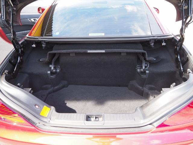 SL400 走行1.2万キロ ワンオーナー禁煙車 レーダーセーフティパッケージ パノラミックバリオルーフ AMG製19AW ブラックナッパレザー 電動ドラフトストップ オートトランクカバー HDDナビBカメラ(31枚目)