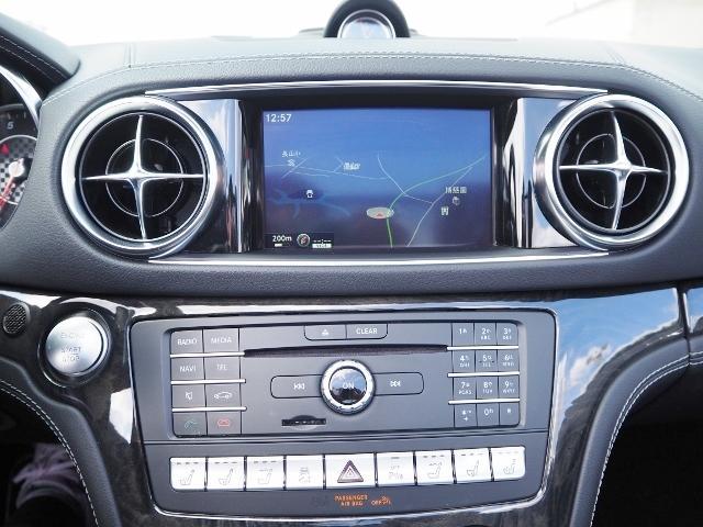 SL400 走行1.2万キロ ワンオーナー禁煙車 レーダーセーフティパッケージ パノラミックバリオルーフ AMG製19AW ブラックナッパレザー 電動ドラフトストップ オートトランクカバー HDDナビBカメラ(36枚目)