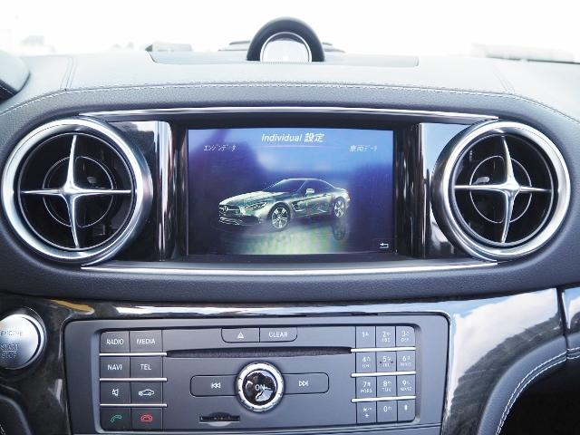 SL400 走行1.2万キロ ワンオーナー禁煙車 レーダーセーフティパッケージ パノラミックバリオルーフ AMG製19AW ブラックナッパレザー 電動ドラフトストップ オートトランクカバー HDDナビBカメラ(37枚目)