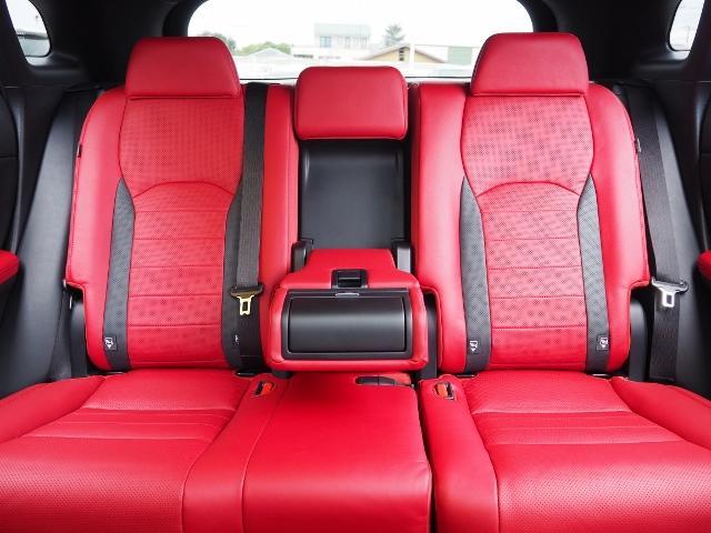 RX300 Fスポーツ 4WD 走行0.6万キロ セーフティシステムプラス OP・TRDフロントスポイラー OP・パノラマルーフ OP・PKSB/BSM/ 全周囲 OP・後席シートヒーター OP・寒冷地仕様 HUD 赤革(27枚目)