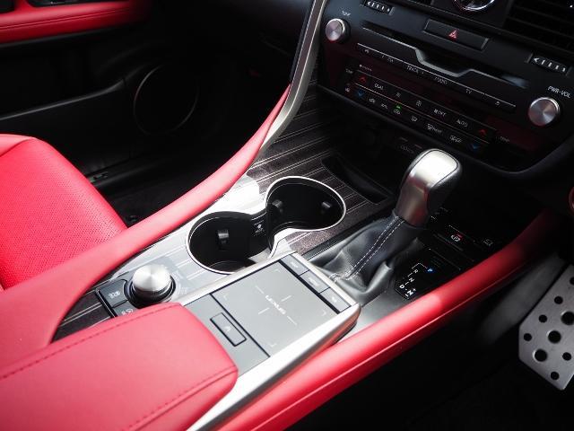 RX300 Fスポーツ 4WD 走行0.6万キロ セーフティシステムプラス OP・TRDフロントスポイラー OP・パノラマルーフ OP・PKSB/BSM/ 全周囲 OP・後席シートヒーター OP・寒冷地仕様 HUD 赤革(48枚目)