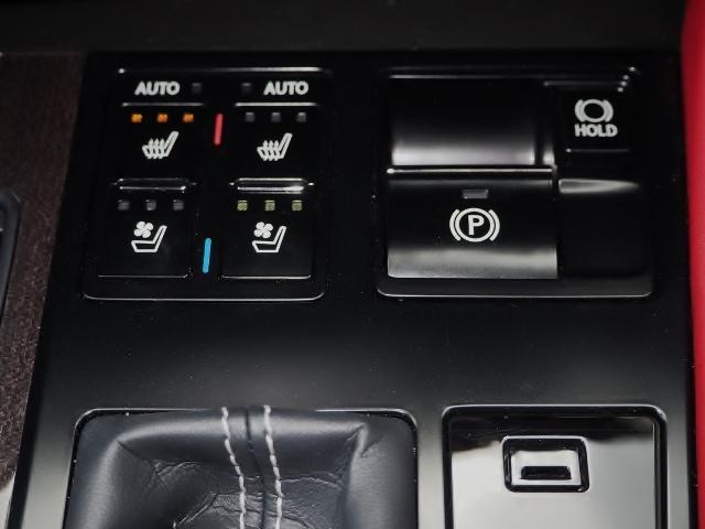 RX300 Fスポーツ 4WD 走行0.6万キロ セーフティシステムプラス OP・TRDフロントスポイラー OP・パノラマルーフ OP・PKSB/BSM/ 全周囲 OP・後席シートヒーター OP・寒冷地仕様 HUD 赤革(50枚目)