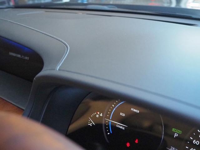 LS600hL エグゼクティブパッケージ 最終型ワイドナビゲーション法人ワンオーナー車 禁煙 OP・革張りインパネ マクレビ リヤエンタメ ワイドSDナビ Bカメラ 前後プリクラ Rクルーズ LKA BSM 黒革 Pトランク(21枚目)