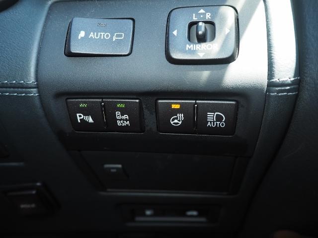 LS600hL エグゼクティブパッケージ 最終型ワイドナビゲーション法人ワンオーナー車 禁煙 OP・革張りインパネ マクレビ リヤエンタメ ワイドSDナビ Bカメラ 前後プリクラ Rクルーズ LKA BSM 黒革 Pトランク(45枚目)