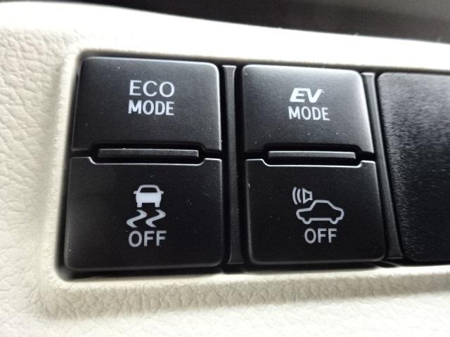 ECOモードやEVモードなど多様なモード切替装備!!