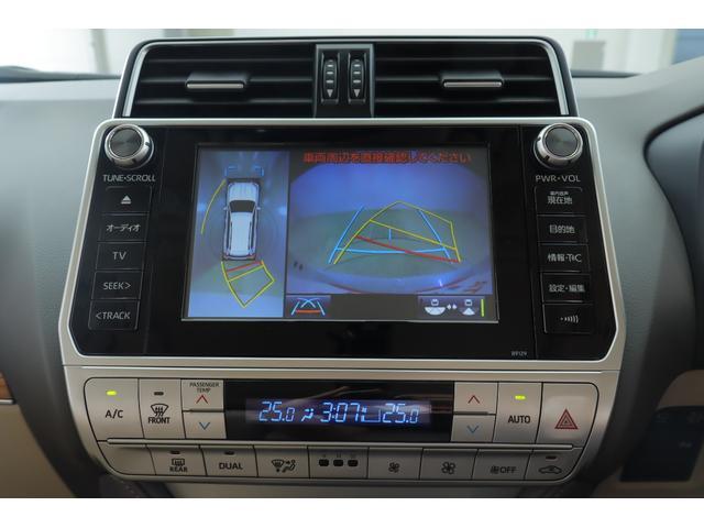 TX Lパッケージ 4WD MOPナビ フルセグ Bモニター 本革 パノラミックビューモニター サンルーフ ETC BSM ワンオーナー 7人(9枚目)