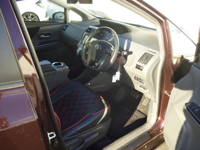 S チューン ブラック ハイブリッドカー ETC キーフリー フォグランプ フロアマットサイドバイザー ステアリングスイッチ(9枚目)
