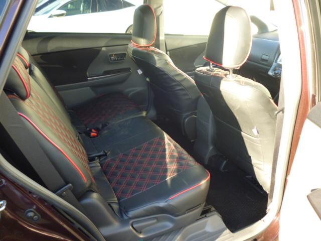 S チューン ブラック ハイブリッドカー ETC キーフリー フォグランプ フロアマットサイドバイザー ステアリングスイッチ(18枚目)