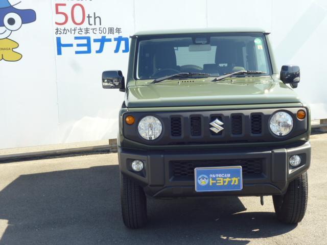 XL 4AT 4WD ジャングルグリーン シートヒーター キーフリー 新品ナビTV付き(2枚目)