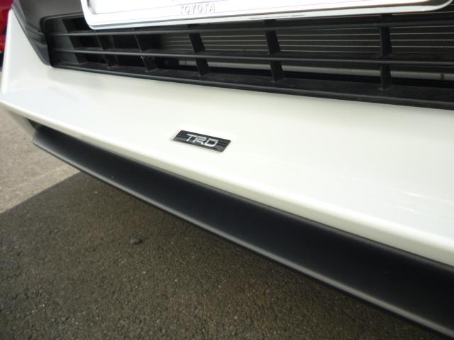 ハイブリッドG TRDエアロパーツ レザーシート クルーズコントロール パワーバックドア シートヒーター バックカメラ 純正9インチSDナビゲーション LEDヘッドライト キーフリー パワーシート(10枚目)