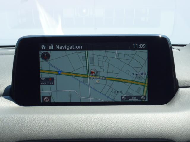 25T Lパッケージ 4WD マツダコネクトナビゲーション 360度ビューカメラ ホワイトレザーシート パワーバックドア LEDヘッドライト運転席助手席シートヒーターシートクーラースマートシティブレーキサポート(10枚目)