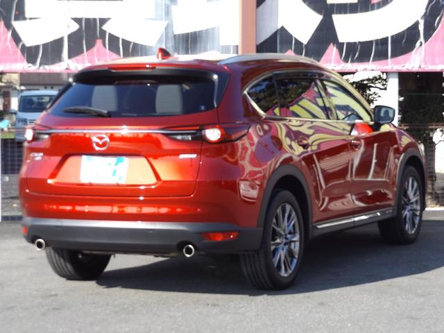 25T Lパッケージ 4WD マツダコネクトナビゲーション 360度ビューカメラ ホワイトレザーシート パワーバックドア LEDヘッドライト運転席助手席シートヒーターシートクーラースマートシティブレーキサポート(29枚目)