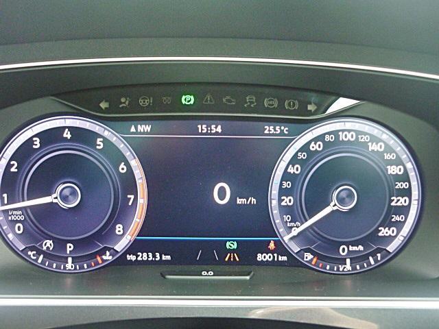 デジタルメーターで車両状況をわかりやすく表示