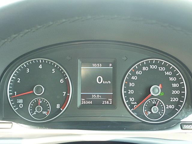 マルチファンクションディスプレイで車両の状態なども確認できます。