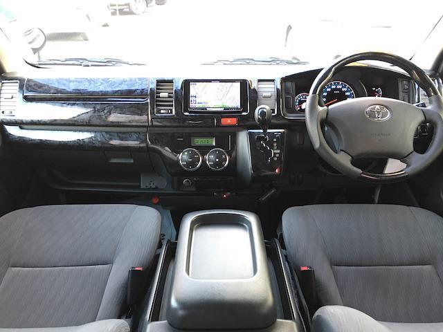 トヨタ レジアスエースバン ロングスーパーGL社外HDDモデリスタスポイラー外15AW