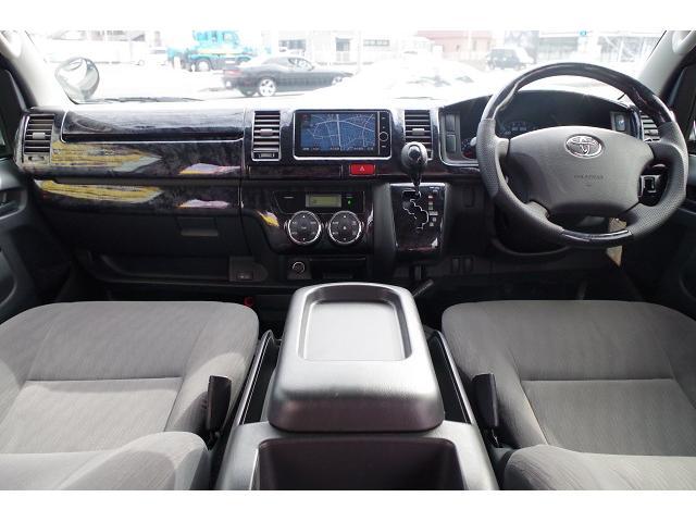 トヨタ レジアスエースバン ロングスーパーGL ベッドキット モデリスタエアロ