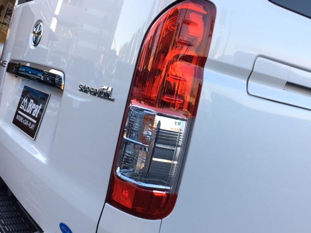 トヨタ ハイエースバン スーパーGL ダークプライム 純正SDナビ バックカメラ