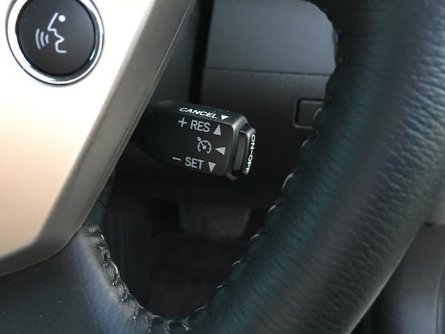 ★アクセルペダルを踏み続けることなくセットした一定速度を維持する機能です。運転者の疲労軽減並びに同乗者の快適性向上です★