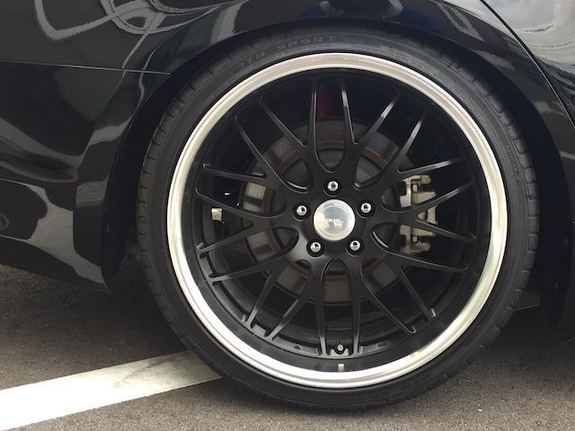 25S グノーシス20AW タナベ車高調 純正Fマット(8枚目)