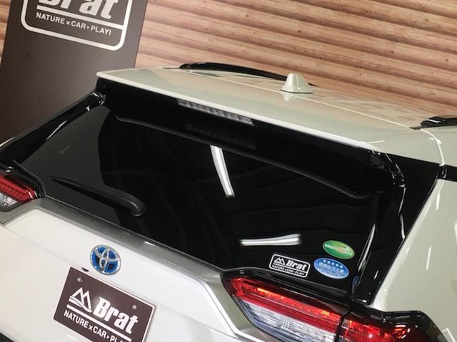 ハイブリッドG 4WD 禁煙車 ワンオーナー トヨタセーフティー TRDフルエアロ ルーフレール 黒革 パワーバックドア レーダークルーズ プリクラッシュ シートヒーター 置くだけ充電 ハンドルヒーター 車線逸脱警報(38枚目)