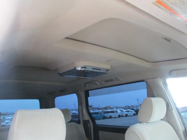AX Lエディション サンルーフ フルセグ HDDナビ DVD再生 後席モニター バックカメラ ETC 両側電動スライド HIDヘッドライト 乗車定員8人 3列シート(17枚目)