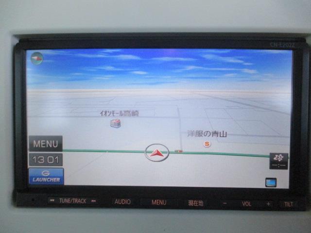 X ワンセグ メモリーナビ ETC HIDヘッドライト アイドリングストップ(5枚目)