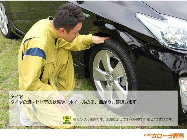 【車両検査】タイヤの溝・アルミの傷もしっかりチェックしています。