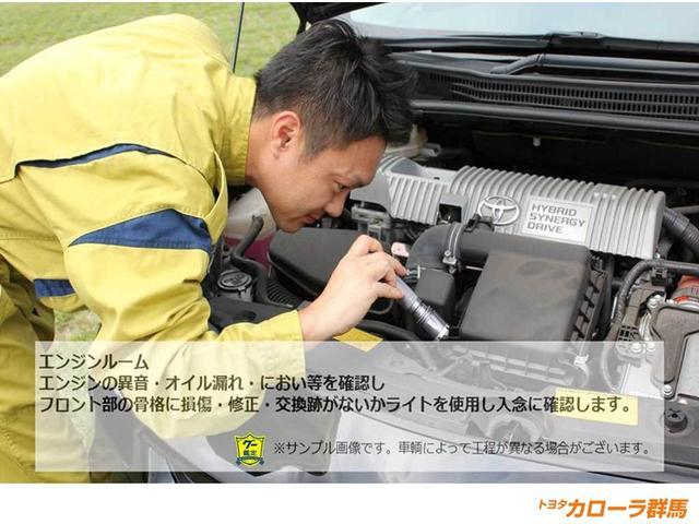 【車両検査】大事なエンジンチェックも細かく行います。