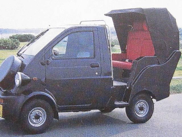 Dタイプ 合法車検車両 3人乗り人力車仕様 コマーシャルカー(18枚目)