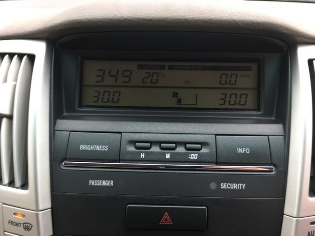 トヨタ ハリアー 240G Lパッケージ ETC HID