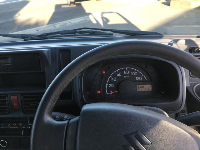 スズキ キャリイトラック ダンプ 4WD 5速マニュアル エアコン パワステ
