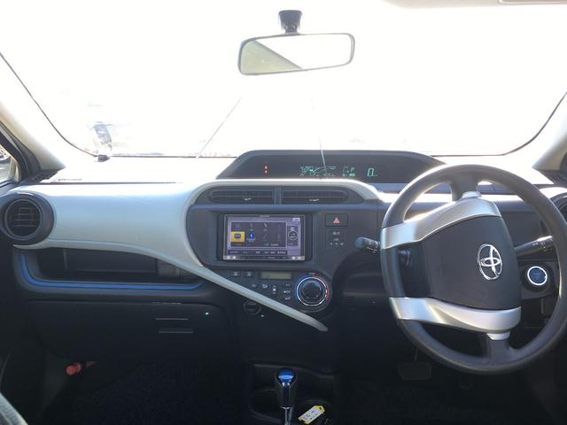 トヨタ アクア S フルエアロ メモリーナビ フルセグ ETC