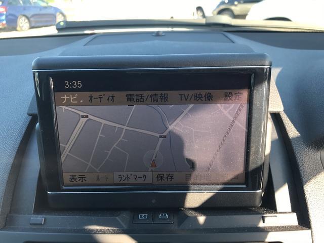 メルセデス・ベンツ M・ベンツ C200コンプレッサー 純正ナビ バックカメラ