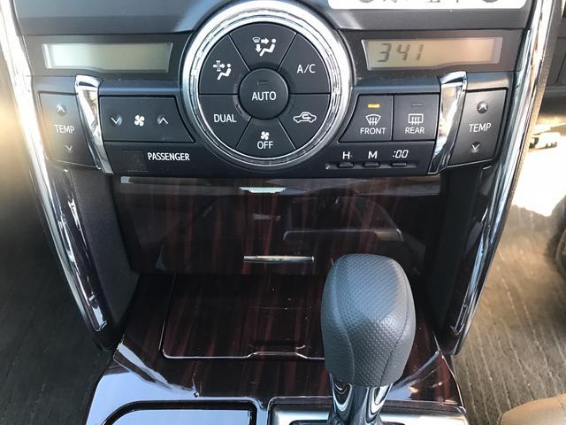 トヨタ マークX 250G Fパッケージ HDDナビ フルセグ ETC