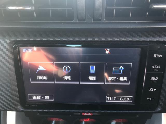 トヨタ 86 GT 社外エアロ 純正ナビ フルセグ バックカメラ