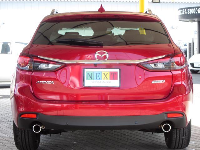 マツダ アテンザワゴン XD Lパッケージ 展示車 白本革シート BOSE