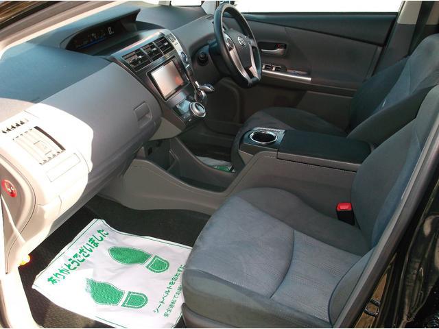 トヨタ プリウスアルファ Gツーリングセレクション クルーズコントロール 地デジナビ