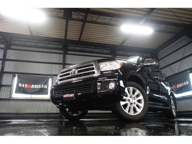米国トヨタ セコイア SR54WD 新車並行 サンルーフ