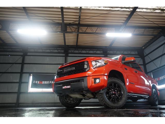TRD PRO 4WD 社外SDナビ トノカバー(2枚目)