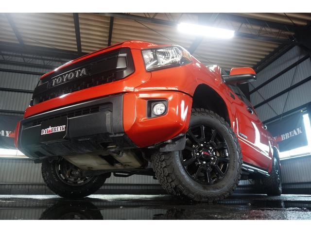 TRD PRO 4WD 社外SDナビ トノカバー(5枚目)