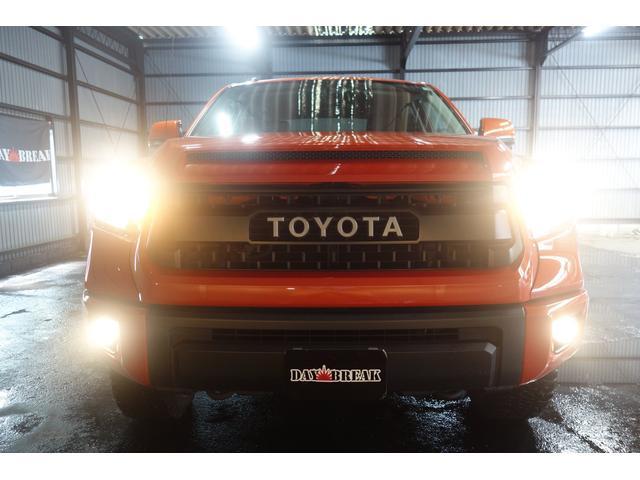 TRD PRO 4WD 社外SDナビ トノカバー(9枚目)