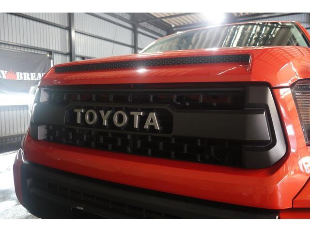 TRD PRO 4WD 社外SDナビ トノカバー(12枚目)
