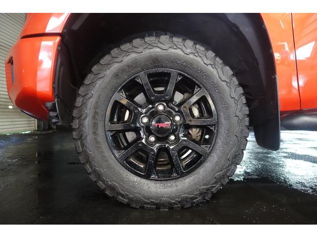 TRD PRO 4WD 社外SDナビ トノカバー(13枚目)