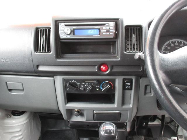 DX 4WD 5速マニュアル Wエアバッグ(9枚目)