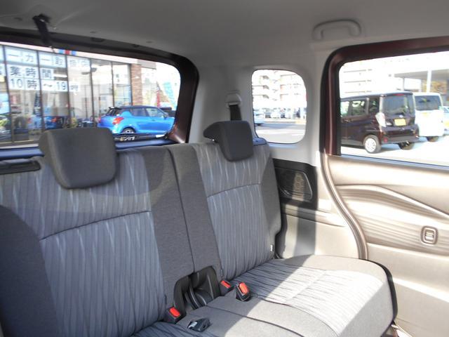 G 登録済未使用車 スズキセーフティサポート 左側電動スライドドア プッシュスタート(10枚目)