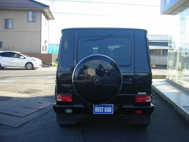 G55 AMGロング AMG G55コンプレッサー 黒革 サンルーフ 左ハンドル G63仕様バンパー シートヒーター 社外ナビTV ETC LEDスカッフプレート スペアキーレス 保証書 取説 記録簿(7枚目)