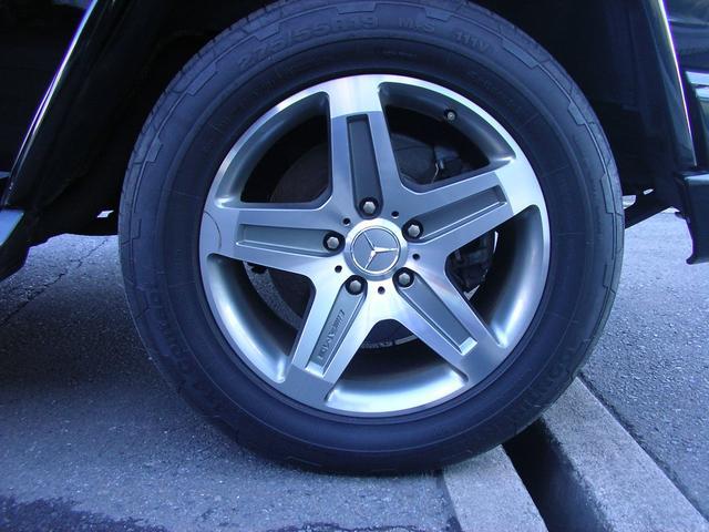 G55 AMGロング AMG G55コンプレッサー 黒革 サンルーフ 左ハンドル G63仕様バンパー シートヒーター 社外ナビTV ETC LEDスカッフプレート スペアキーレス 保証書 取説 記録簿(19枚目)