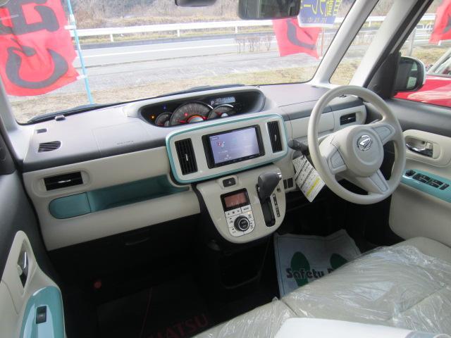 ダイハツ ムーヴキャンバス Gメイクアップ SAII 4WD メモリーナビ 両側電動