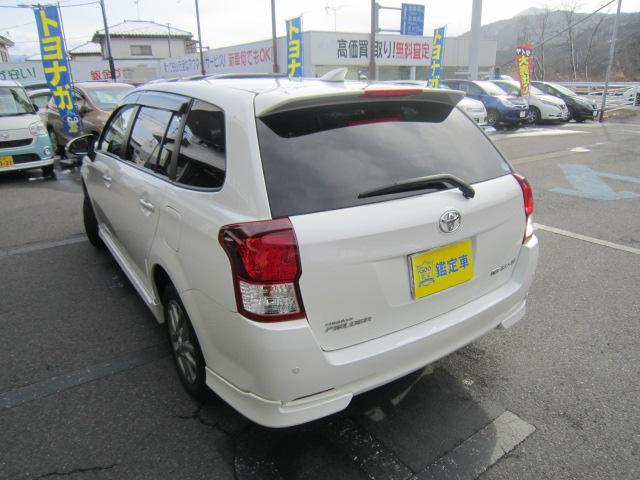 トヨタ カローラフィールダー 1.5G エアロツアラー・WXB 4WD フルセグSDナビ