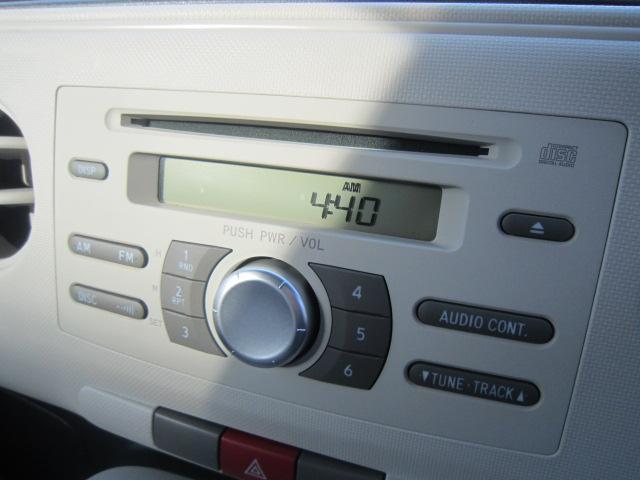 お気に入りの音楽を聴きながら楽しく運転できる!純正CDステレオ付き♪別途カーナビも取り扱っていますのでご相談して下さい。